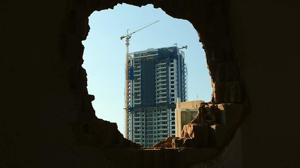Taste of cement  (Sabor a cemento), de Ziad Kalthoum