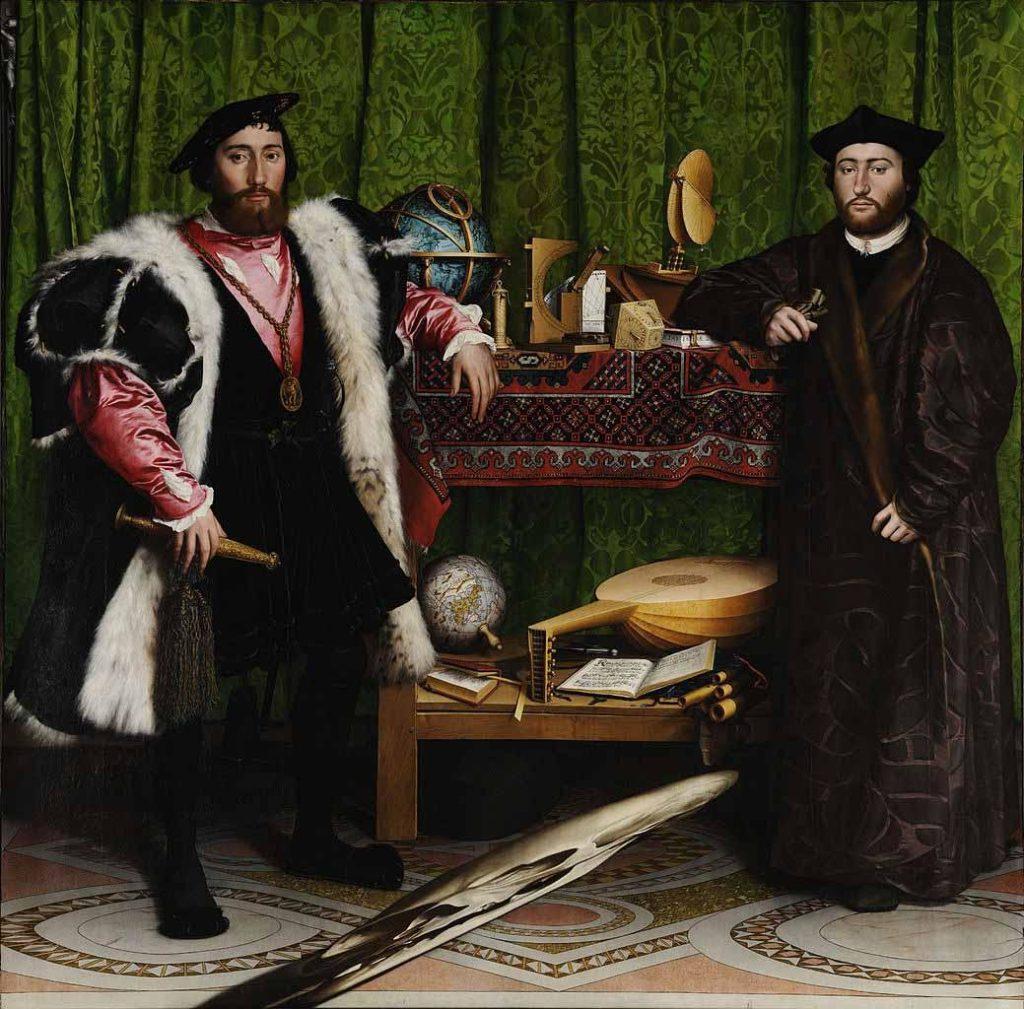 Los embajadores, de Hans Holbein