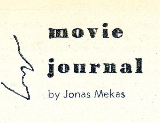 Jonas Mekas y su columna en Village Voice