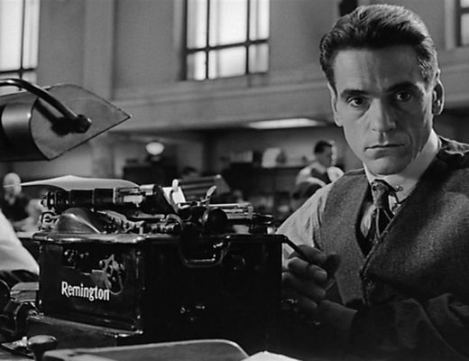 Jeremy Irons, film: Kafka, directed by: Steven SoderberghJeremy Irons en Kafka, de Steven Soderbergh