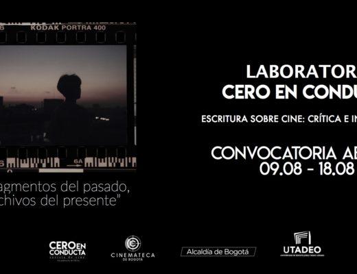 Laboratorio Cero en conducta de crítica cinematográfica. Cinemateca de Bogotá